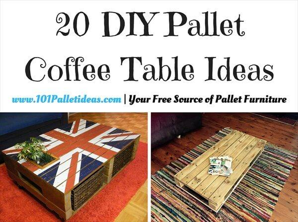Pallet Coffee Table Ideas