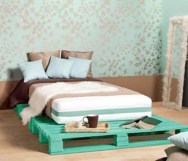 Diy Pallet Bed - Your Own Creativity Ideas