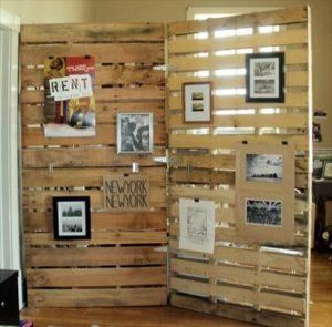Patetioning Made So Easy of Pallet Room Divider