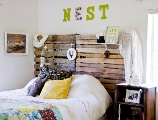 27 DIY Pallet Headboard Ideas