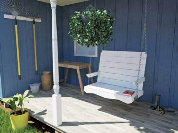 pallet porch swing chair