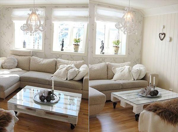 Pallet for living room