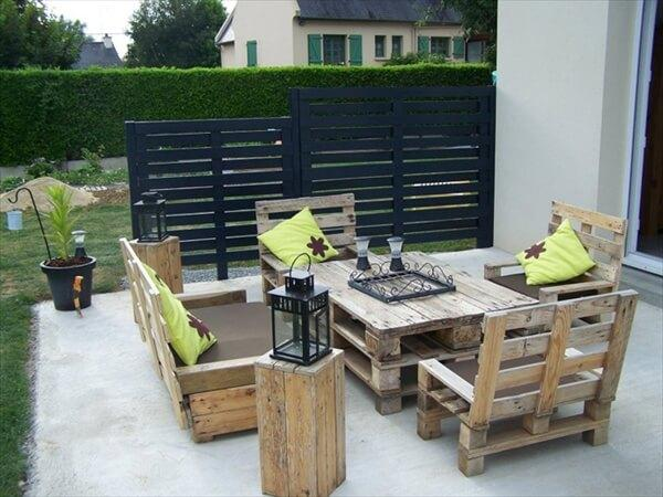 Pallet Patio Furniture
