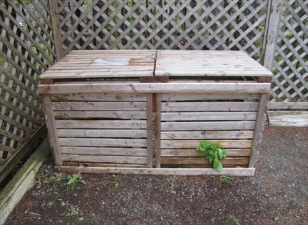 9 Ideas for a Wooden Pallet Compost Bin – 101 Pallets