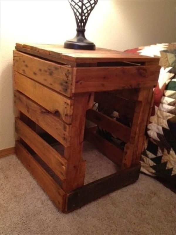 pallet nightstands