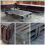 Beautiful Garden Pallet Lounge Set