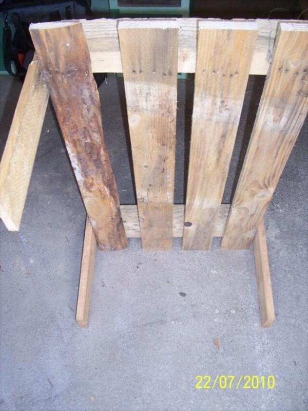 Perfect Coffee Table From Two Pallets