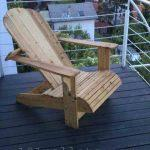 Comfortable Pallet Adirondack Chair
