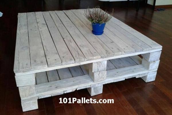 best pallet coffee table