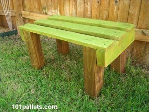 5 Pallet Garden Benches to Enjoy Leisure Time