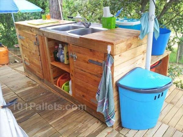 fantastic pallet outdoor kitchen 101 pallets buffet used as kitchen island kitchen islands buffets and sideboards