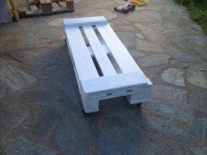 Wooden Pallet Coffee Table and Stickers
