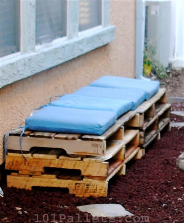 How to Make a Pallet Bench
