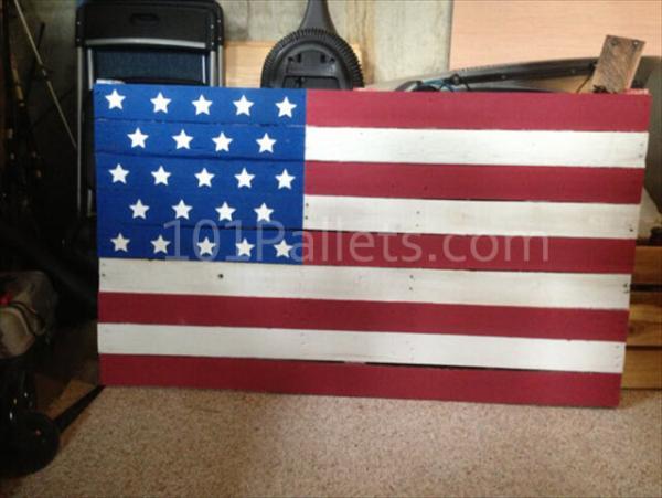Pallet American Flag Tutorial 101 Pallets