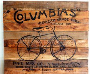Pallet Bicycle Art