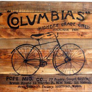 Pallet Bicycle Art