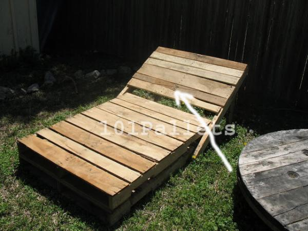Pallet Lounge Chair Plans 101 Pallets
