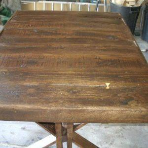 Try Out Project of Pallet Trestle Table