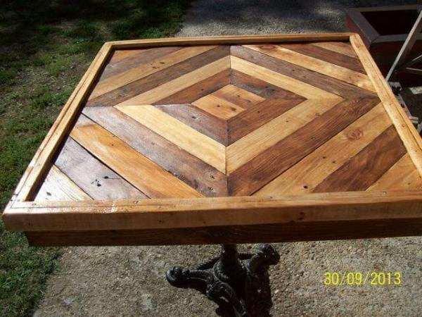 DIY Pallet Table Tutorial