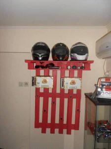 Pallet hook shelf