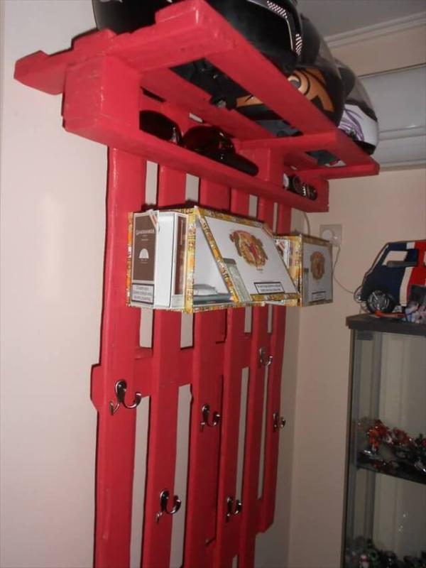 DIY Hook Shelf