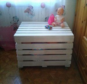 DIY Wooden Pallet Storage Box