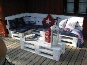 DIY Pallet Furniture for Terrace
