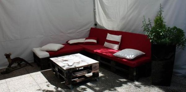 outdoor pallet sofa ideas