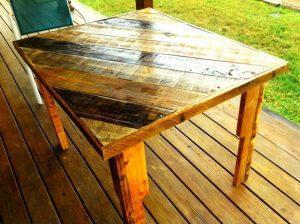 DIY Pallet Table by Scott Bucy