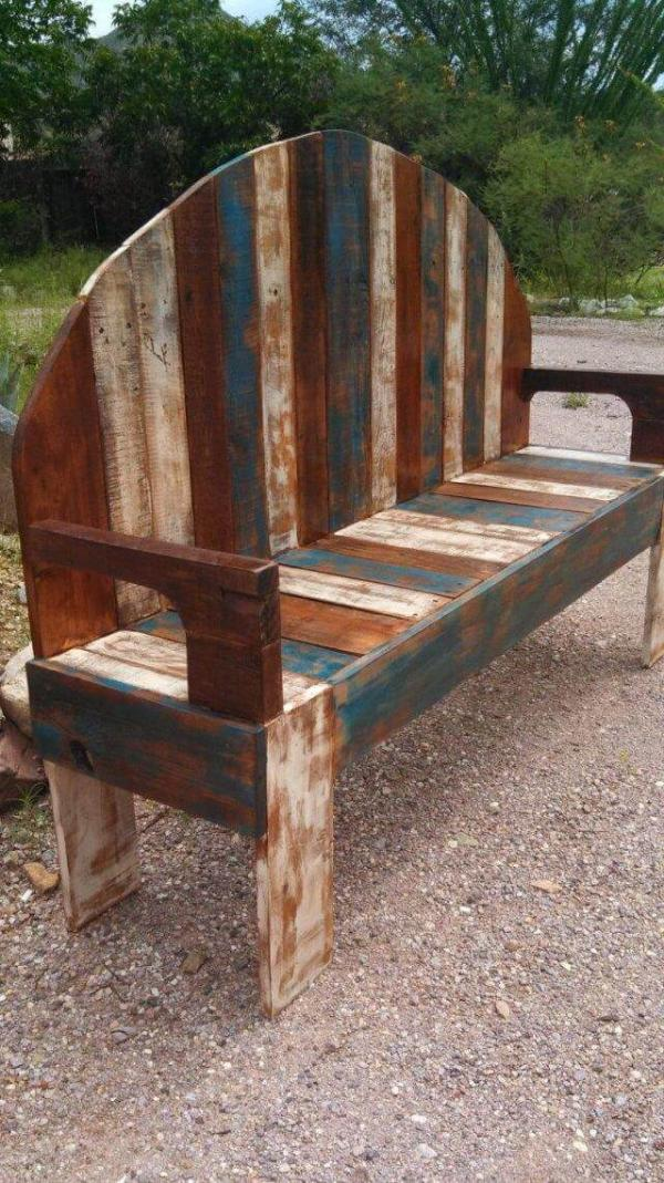 WoodenPallet Bench