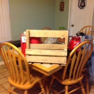 DIY Wine Bottle and Glass Rack