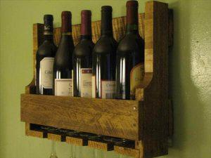 Recycled Wine Rack