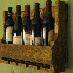 Recycled Wine Rack