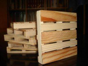 Coasters from Reclaimed Pallet wood
