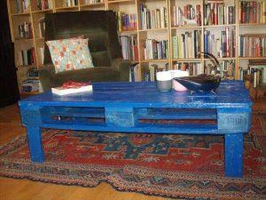 Upcycled Pallet Vibrant Coffee Table