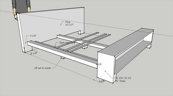 Pallet Platform Bed Plan