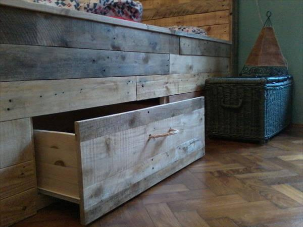 pallet bed tutorial