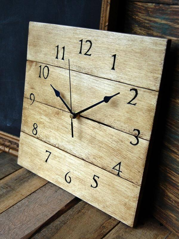 Pallet Clock Tutorial