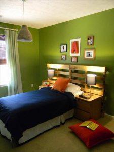 Pallet Headboard for Kids Bed