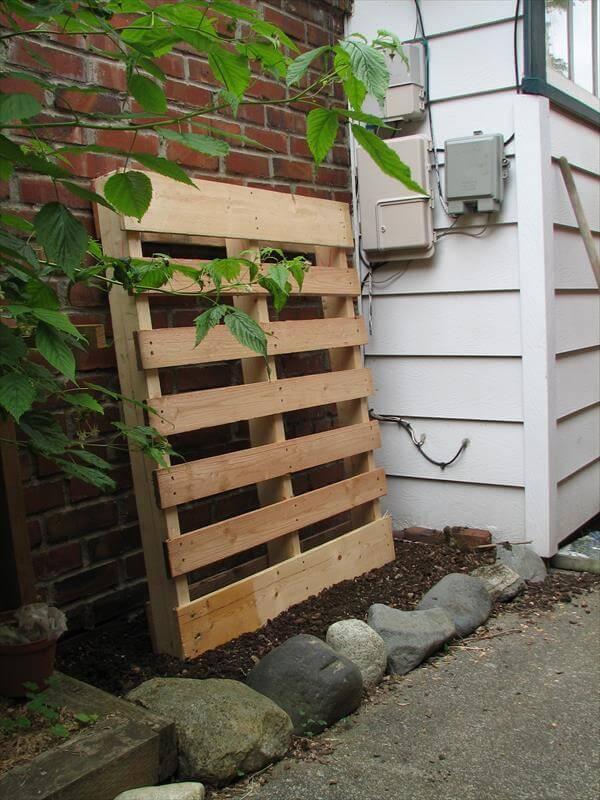 diy pallet vertical garden planter