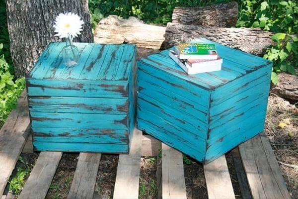 pallet end table plans