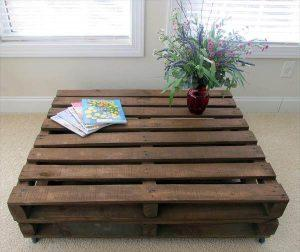 Old Pallet Wood Coffee Table