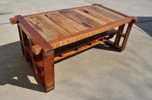 Salvaged Pine Coffee Table
