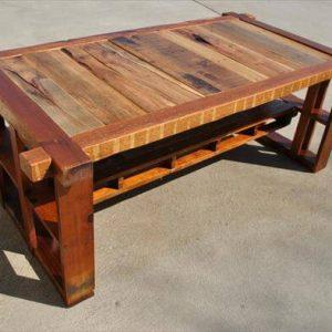 Salvaged Pine Coffee Table