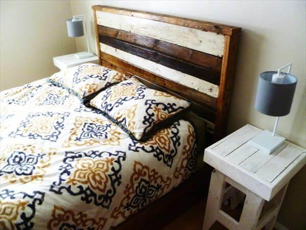 DIY Pallet Night Stand