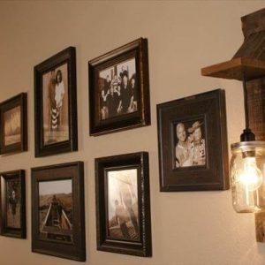 pallet mason jar light gift
