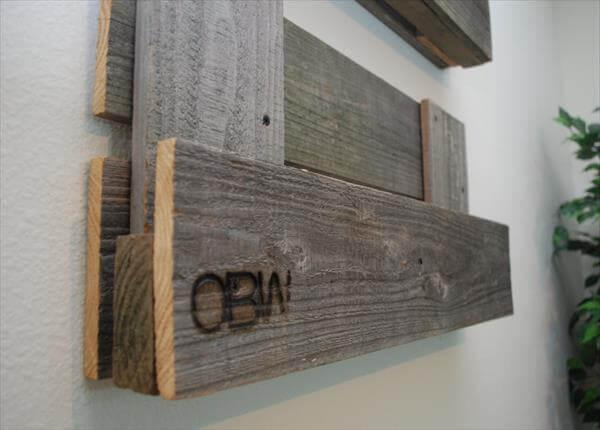 redeemed pallet shelf