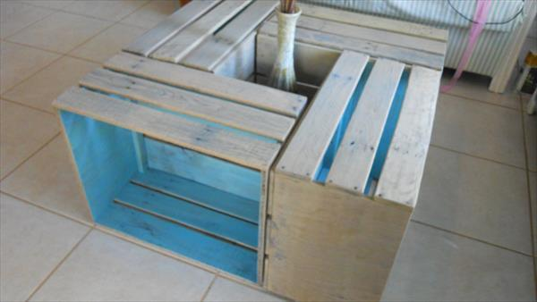 reprocessed pallet crate table