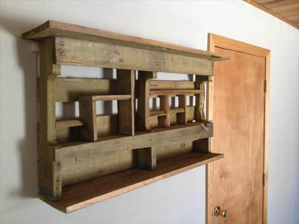 recycled pallet rack
