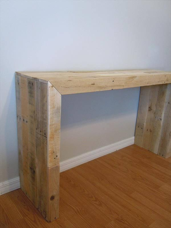 reestablished pallet table
